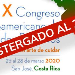 X Congreso Latinoamericano de Cuidados Paliativos: Postergado al 2021