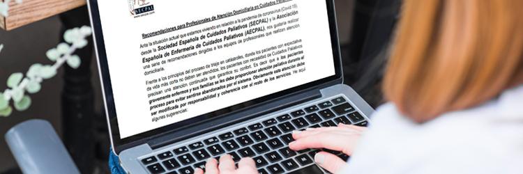 Consejos para los equipos de Cuidados Paliativos durante el Covid-19